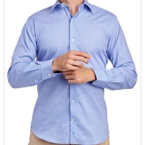 TAILORBYRD COLLECTION Geometric Woven Shirt